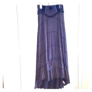 Hi-low Tube top dress